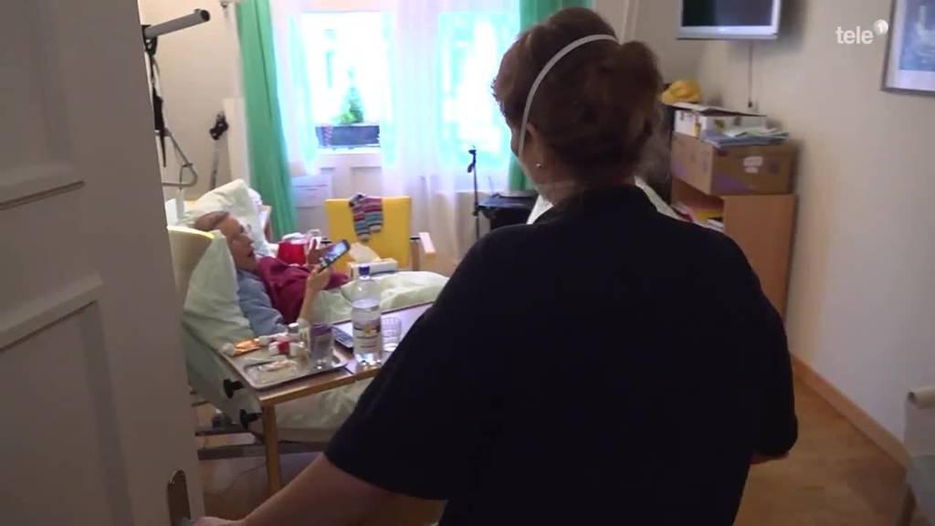 Begleiterin auf dem letzten Weg: Esther Walz pflegt Todkranke