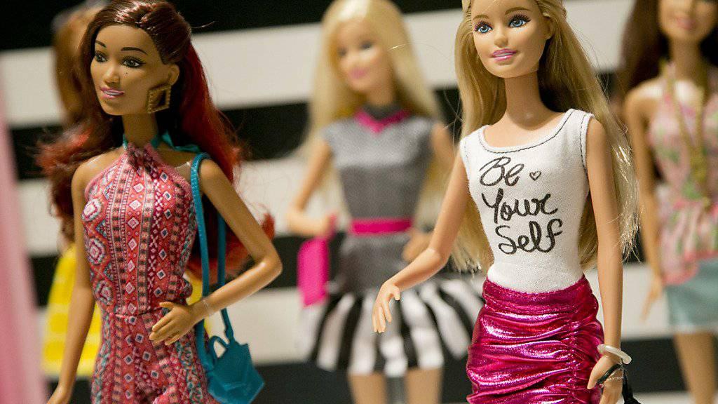 Die Geschäfte beim US-Spielwarenhersteller Mattel, der unter anderem die Barbiepuppen produziert, laufen sehr schlecht. (Archivbild)