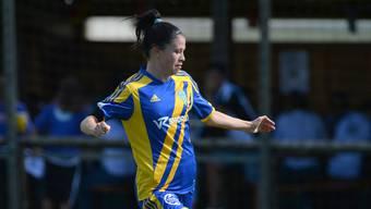 Erzielte ein frühes Tor für ihren Verein: Carla Hager vom SC Derendingen.