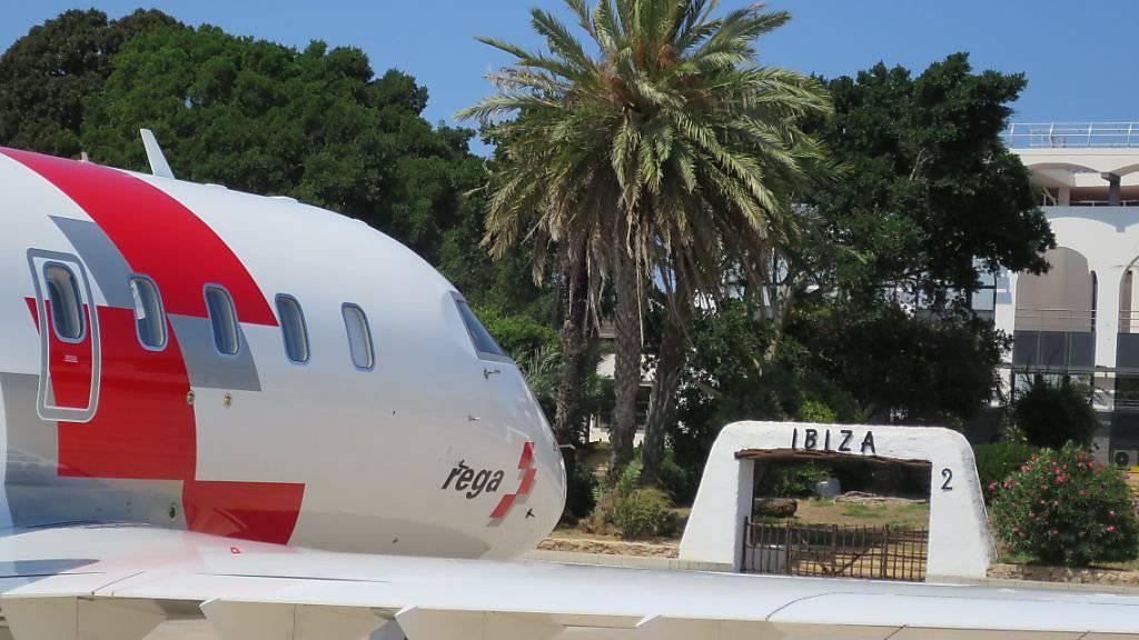 Die Jets der Schweizerischen Rettungsflugwacht (Rega) haben während der Sommerferien 280 Patienten in die Schweiz zurückgeholt.