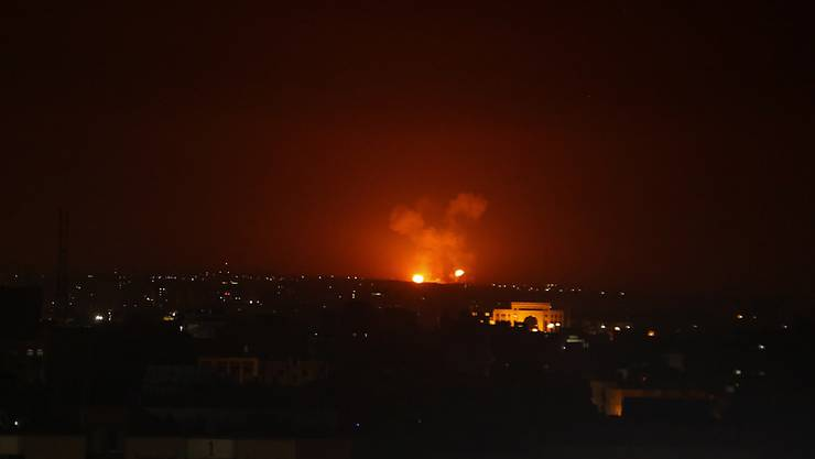 Das israelische Militär hat erneut Syrische Stellungen angegriffen. (Symbolbild)