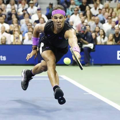 Kampf bis zum letzten Ball: Rafael Nadal gewann einen dramatischen US-Open-Final gegen Daniil Medwedew in fünf Sätzen.