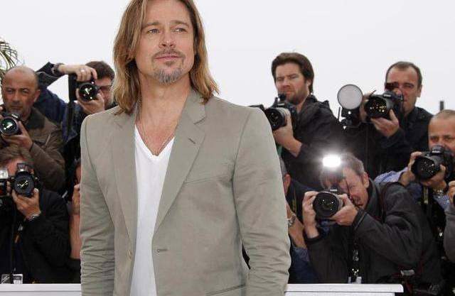 Brad Pitt im Fokus der Fotografen in Cannes