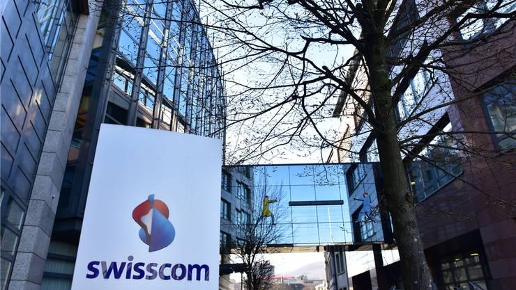 Das Telekommunikationsunternehmen Swisscom setzt auf Olten, wo das grösste Call Center entsteht. Bruno Kissling