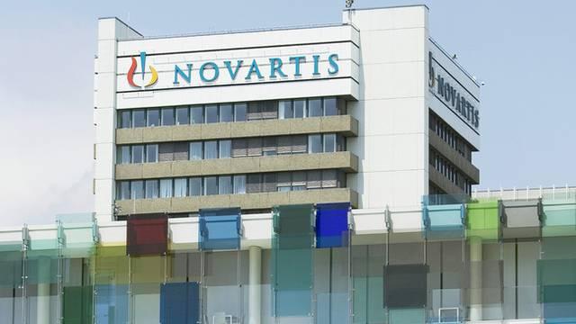 Beim Novartis-Campus in Basel werden weniger Stellen abgebaut. (Archiv)