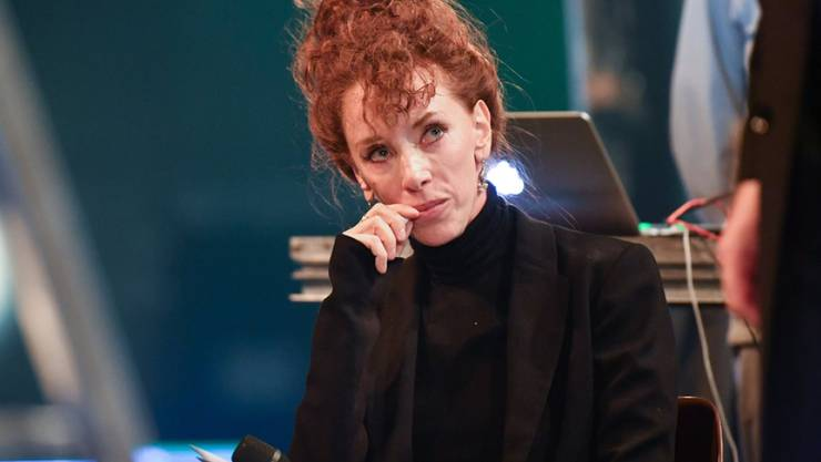 """Die Schriftstellerin Sibylle Berg ist mit ihrem Roman """"GRM. Brainfuck"""" für den Schweizer Buchpreis nominiert, der am 10. November verliehen wird. Mit dem Rummel, der darum gemacht wird, tut sie sich schwer, wie sie im Gespräch mit Keystone-SDA zugibt. (Archivbild)"""