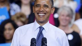 Kann sich über gute Spendeneinnahmen freuen: Der US-Präsident Barack Obama (Archiv)
