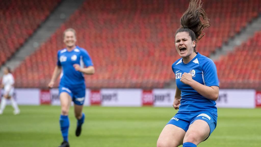 Die FCL-Frauen gewinnen den Cupfinal!