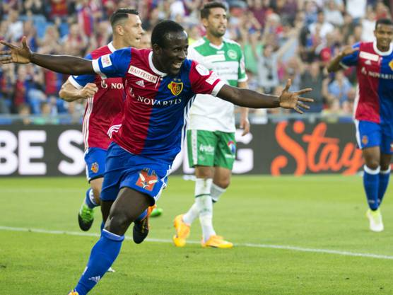 Doumbia traf für den FC Basel in 34 Spielen 21 Mal und wurde Torschützenkönig. Mit Sion kehrt er am Sonntag ins Joggeli zurück.