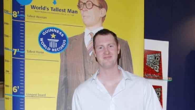 Neil Fingleton, mit 2,3 Metern Körpergrösse ein beliebter Darsteller von Riesen in Superhelden-Filmen, ist am Samstag gestorben. Er wurde nur 36 Jahre alt. (Pressebild)