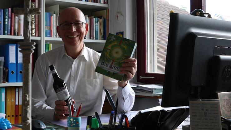 Verzichtet auf den Wein: Christian Edringer, christkatholischer Pfarrer in Möhlin.