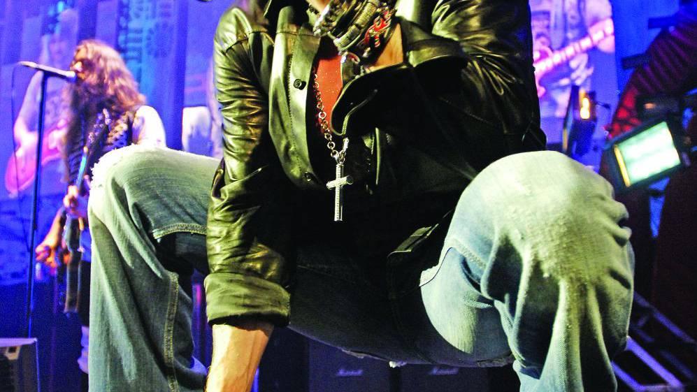 «Guns n' Roses»: Axl Rose und Slash im Letzigrund