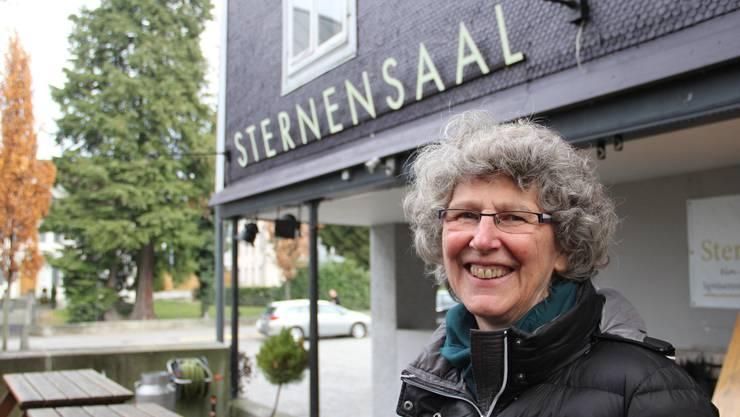 Präsidentin Eva Keller erinnert sich an fast alle der 30 Sternensaal-Jahre – und noch heute ist sie begeistert vom kulturellen Angebot des Vereins.