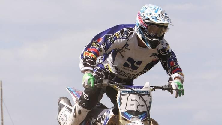 Patrick Walther vom MC Muri steigert sich vom vierten auf den zweiten Platz