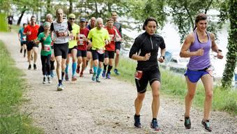 Beim zweiten Aargau Marathon im 2018 liefen 1430 Teilnehmerinnen und Teilnehmer mit. André Albrecht