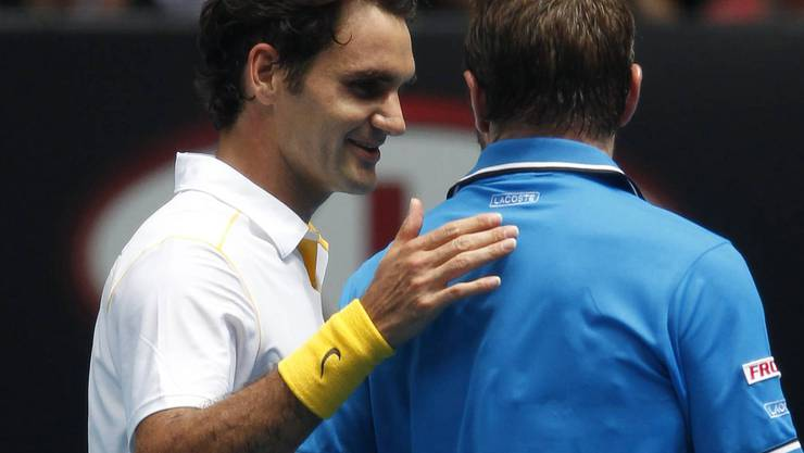 Australian Open 2011: Titelverteidiger Federer dominiert «Killer» Wawrinka. In Wawrinkas Box sitzt mit Peter Lundgren Federers Ex-Trainer, der sagt: «Stan ist jetzt ein Killer. Vorher war er zu sanft, zu nett.» Zu sehen ist davon wenig: 6;1 6:3, 6:3 für Titelverteidiger Federer im Viertelfinal. Federer lobt trotzdem: «Stan hat das Zeug zum Grand-Slam-Sieger.» Federer unterliegt im Halbfinal Djokovic.