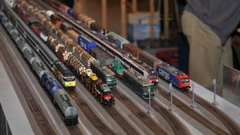 Hier werden Eisenbahnfans elektrisiert: Die Mehrzweckhalle Niedergösgen wird zum Modelleisenbahn-Eldorado.