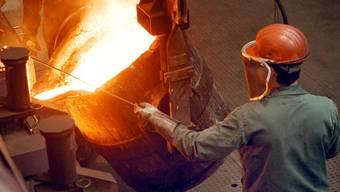 Die Maschinen-, Elektro- und Metallindustrie verzeichnete einen Anstieg von 34,7 Prozent im Vergleich zur Vorjahresperiode. (Symbolbild)
