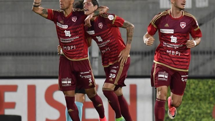 Der FC Vaduz kann weiter auf den Klassenerhalt hoffen