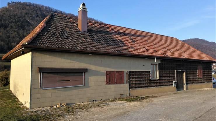 Die Fassade am alten Schützenhaus soll erneuert werden.