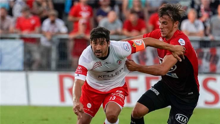 FCA-Aufstiegsheld Davide Callà brillierte im Hinspiel mit zwei Toren. Freshfocus