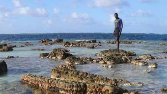 Der Genfer Forscher Elias Samankassou untersuchte Korallen in Polynesien und schloss davon auf die Schwankungen im Meeresspiegel.