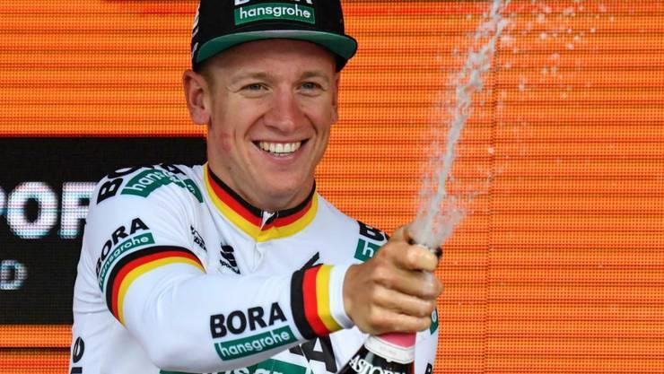 Der deutsche Meister Pascal Ackermann gewann in Terracina die 5. Etappe des Giro d'Italia