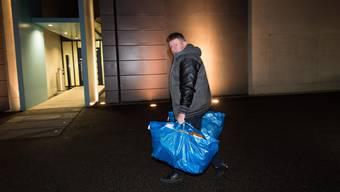 6. Dezember 2018: Ignaz Walker auf dem Weg ins Gefängnis Grosshof in Kriens.
