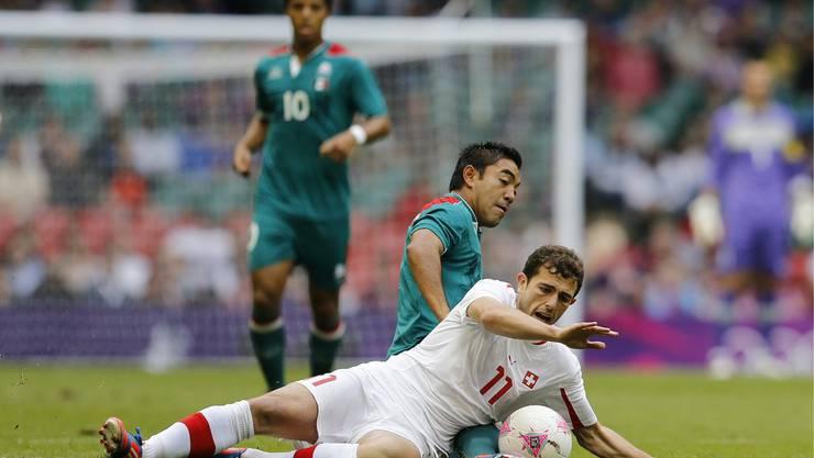 Alles kämpfen nützte nichts, die Schweizer scheiden aus dem Olympischen Turnier aus
