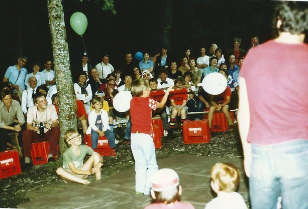 Spass im Wald 1978