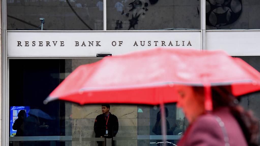 Auch in Australien haben die Leitzinsen einen Tiefstwert erreicht. (Archivbild)