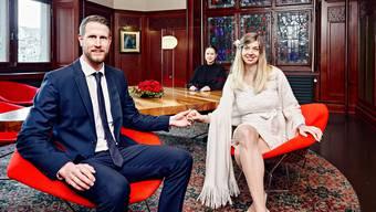 Ihre Hochzeit in Thun wurde wegen Corona abgesagt. Also heiraten sie in Zürich. Die Liebe ist stärker als das Virus
