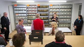 Am Donnerstagabend konnten Museumsbesucher erstmals einen Blick ins Ringier-Schauarchiv werfen.