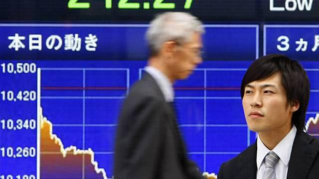 Die Börse in Tokio im Plus (Archiv)