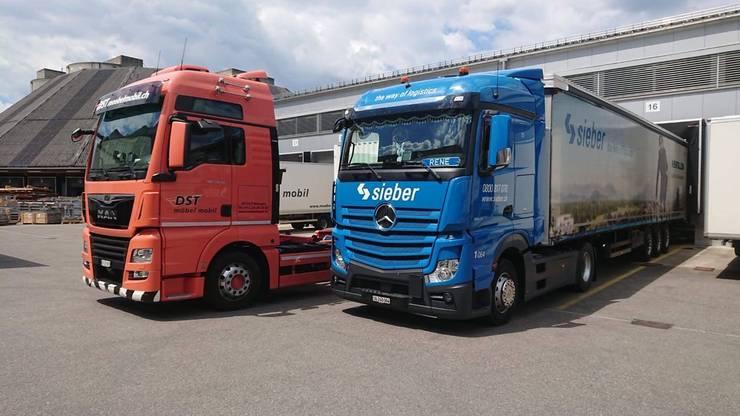 Fahrzeuge der DST-Combitrans sind neu in den Händen von Sieber.