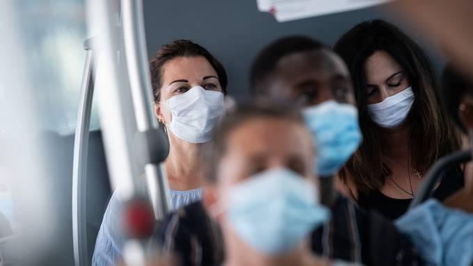 66 bestätigte Neu-Infektionen meldet das Bundesamt für Gesundheit am Montag.