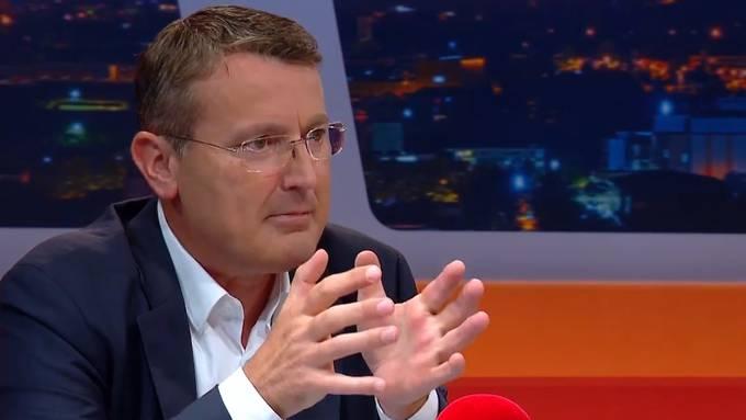 Thomas Burgherr, Präsident SVP Aargau im TalkTäglich auf TeleM1 am 250619 (3)