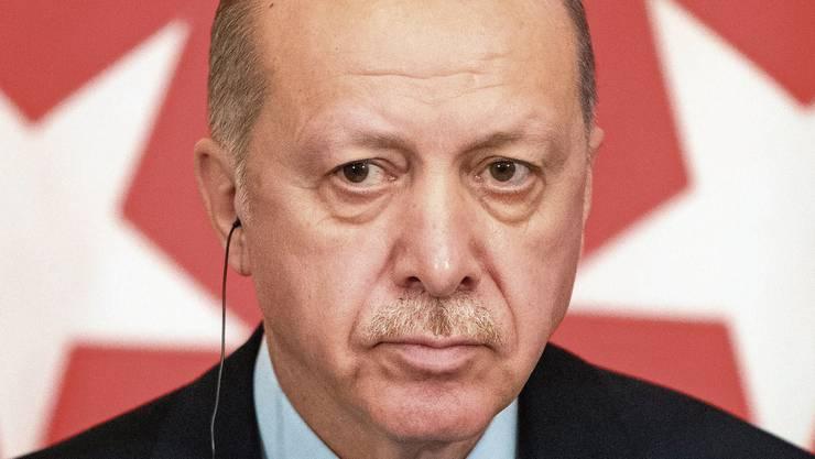 Plagt seine europäischen und Nato-Partner gleich an fünf Fronten: Der türkische Präsident Recep Tayyip Erdogan.