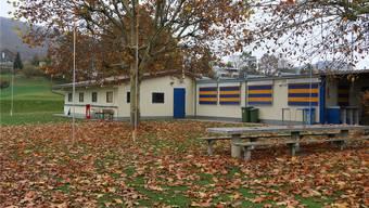 Das Klubhaus des FC Frick wird komplett abgerissen und neu gebaut.