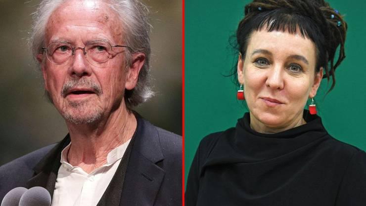 Mit dem Literaturnobelpreis ehrt die Akademie in Stockholm europäische Stimmen: der gebürtige Österreicher Peter Handke erhält den Preis für 2019, die Polin Olga Tokarczuk für 2018.