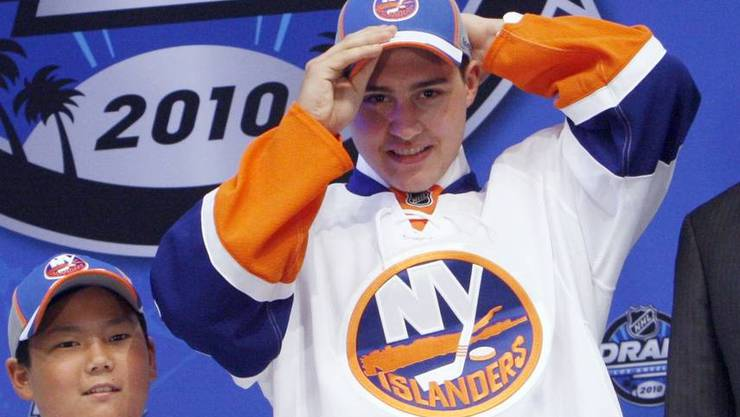 Der Schweizer war der fünfte Spieler, den die New York Islanders in der ersten Runde drafteten.