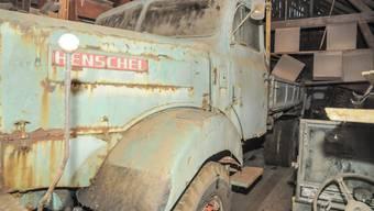 Der Unglückslastwagen von 1963 ist mittlerweile 53 Jahre alt und technisch noch original erhalten.