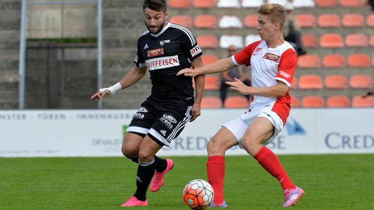 Für den FC Solothurn schmerzen die 2 verlorenen Punkte.