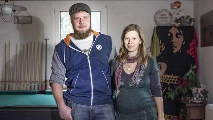 Oliver und Joèlle Urech-Henning stünden in diesen Tagen am Weihnachtsmarkt Winterthur.