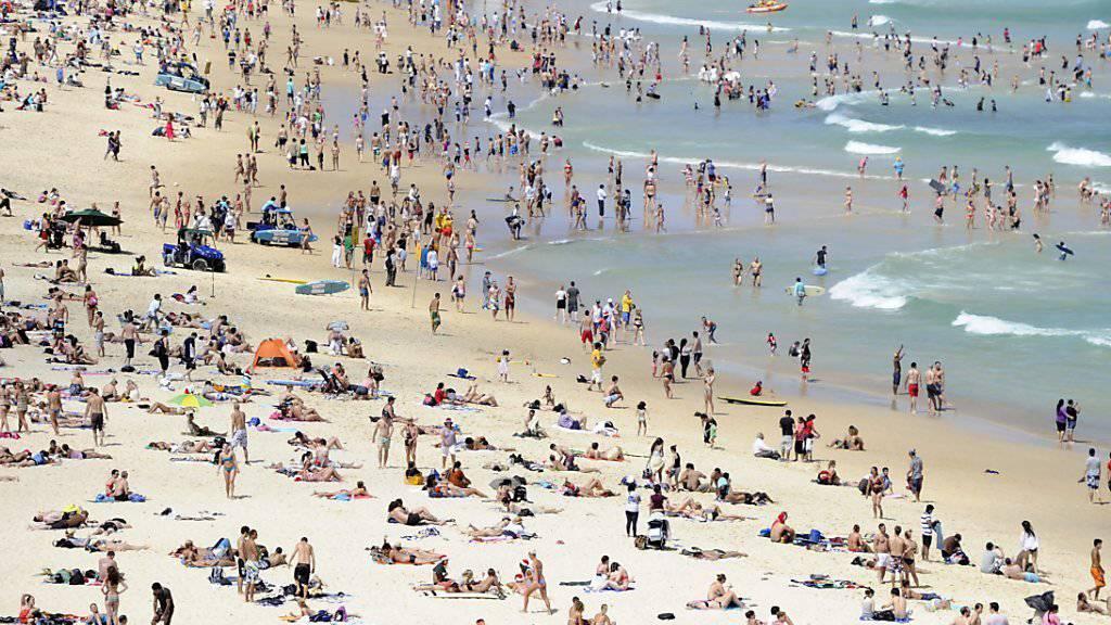 Bondi Beach in Sydney: Xing-Chef Thomas Vollmöller weilt derzeit in Australien und nimmt eine dreimonatige Auszeit.