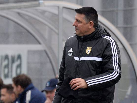 Aeschs Trainer Sinisa Pavkovic Foto.