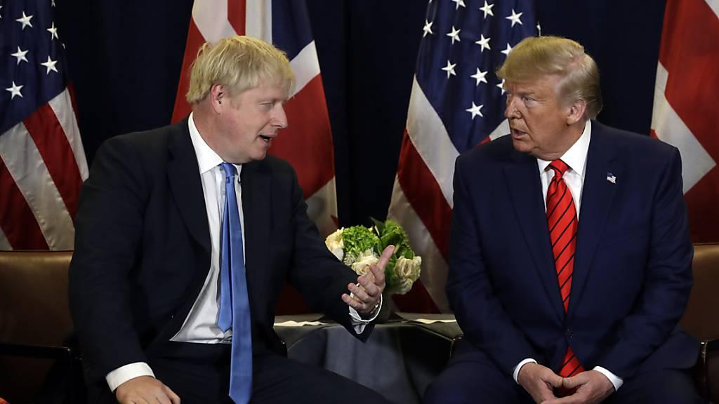 Trump und Johnson sprechen über Handelsdeal nach Brexit