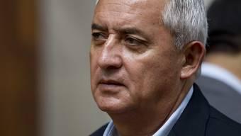 Soll 680'000 Euro Schmiergeld kassiert haben: Guatemalas früherer Präsident Otto Perez. (Archivbild)