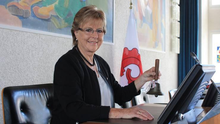 «Es wird nicht goutiert, wenn ich jemanden unterbreche, auch wenn es mein Recht wäre», sagt Myrta Stohler. Heute Donnerstag schwingt sie zum letzten Mal die Glocke.