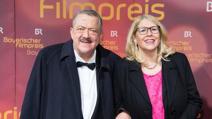 Der Schauspieler Joseph Hannesschläger, hier mit seiner Ehefrau Bettina Geyer, ist am 20. Januar 2020 gestorben. (Archiv)